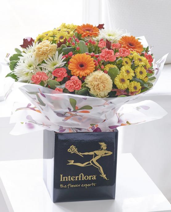 Autumn Celebration Handtied - Stourport Florist Cooks Florist