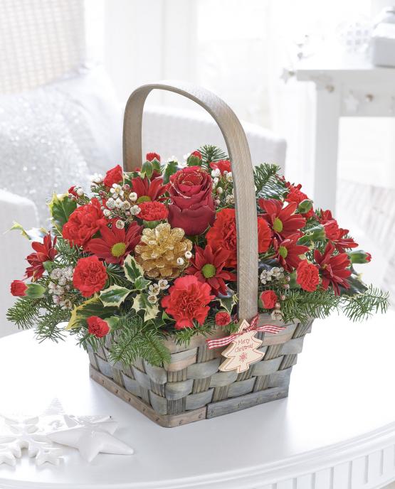 Festive Charm Basket