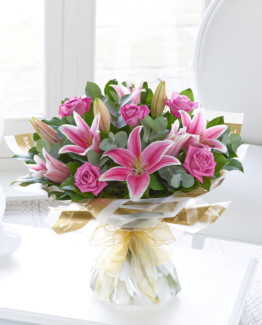 Pink-Rose-Lilly